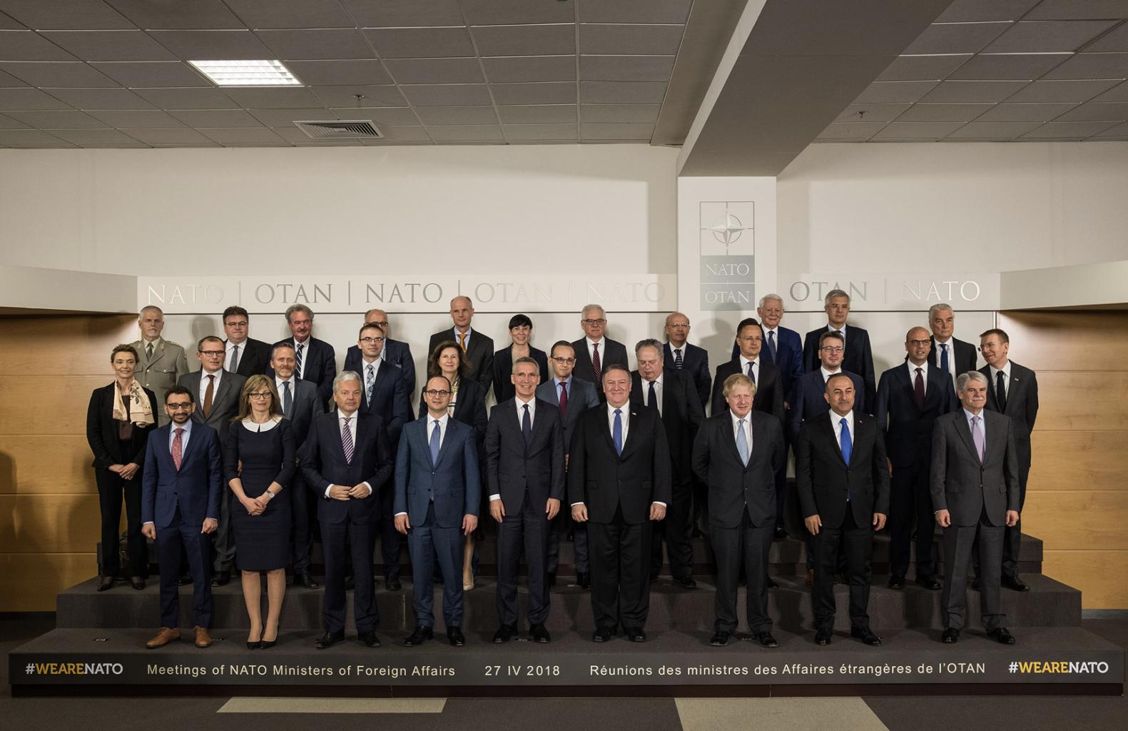 NATO in Focus: NATO Foreign Ministerial (FORMIN) April 2018