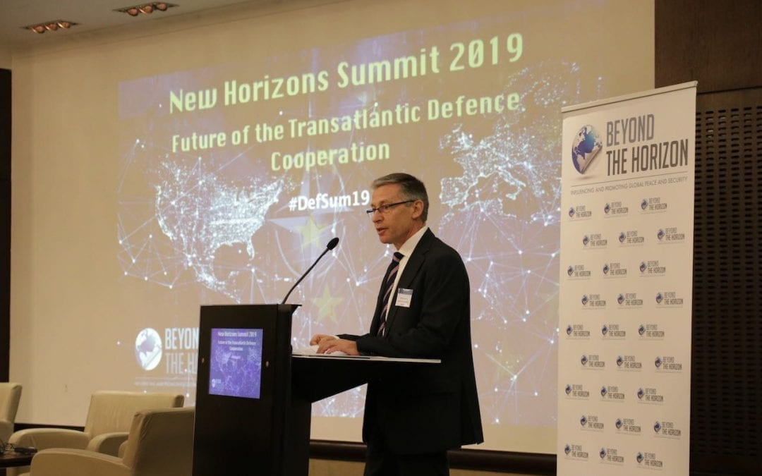 New Horizons Summit-2019 Proceedings Opening Remarks by Vincent Sassel