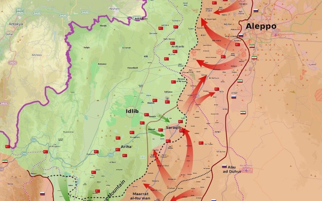 What is happening in Idlib province? Beyond the Horiaon ISSG