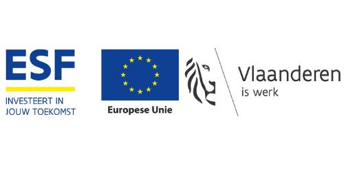 ESF VLAANDEREN IS WERK EN EU LOGO Beyond the Horizon ISSG